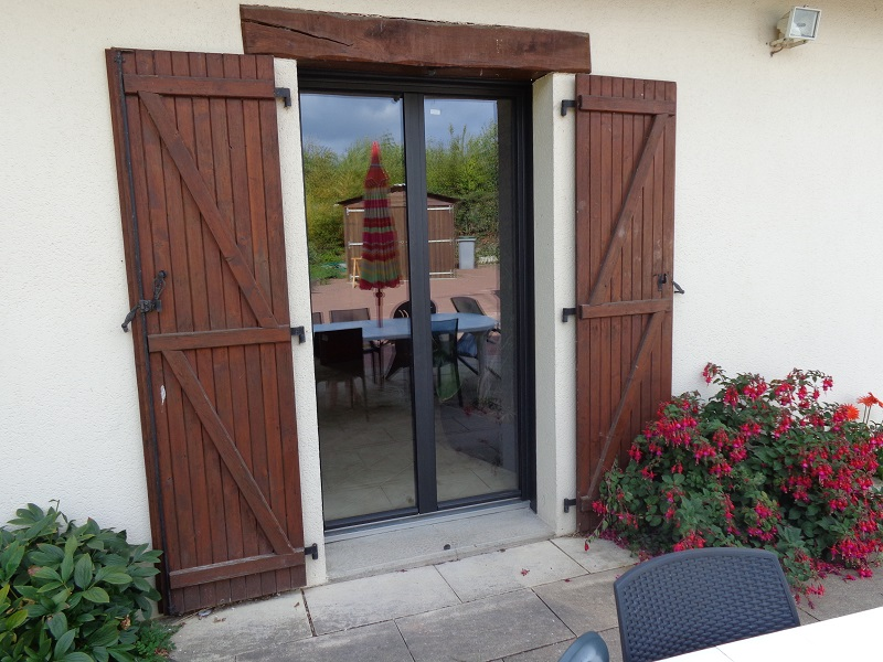Porte fenetre Alu