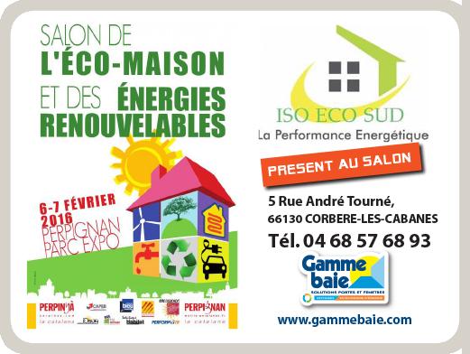 Salon de l eco maison et des energies renouvelables for Maison a energie renouvelable